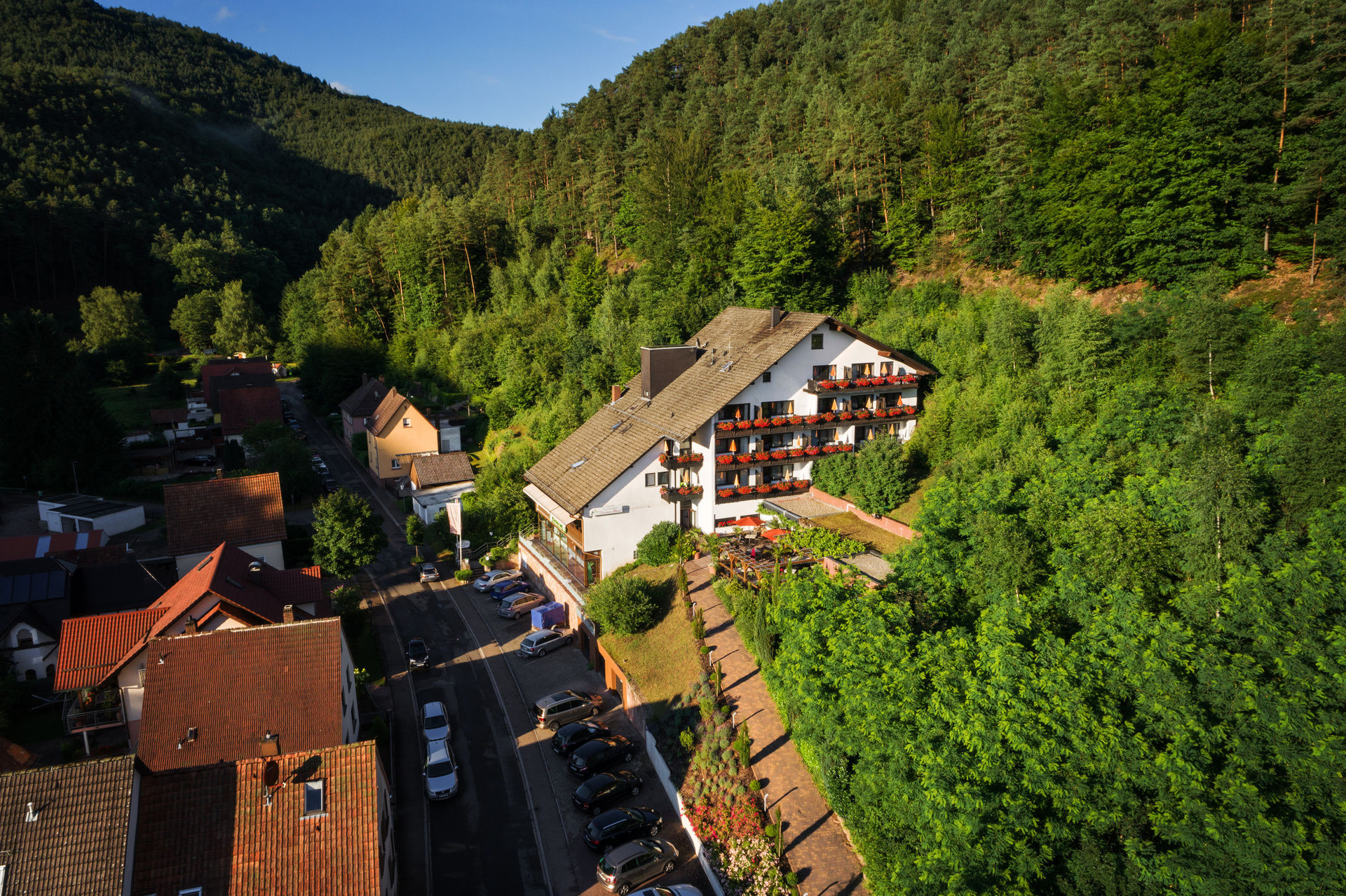 3 Sterne Hotel In Erfweiler Pfalz Dahner Felsenland Naturpark